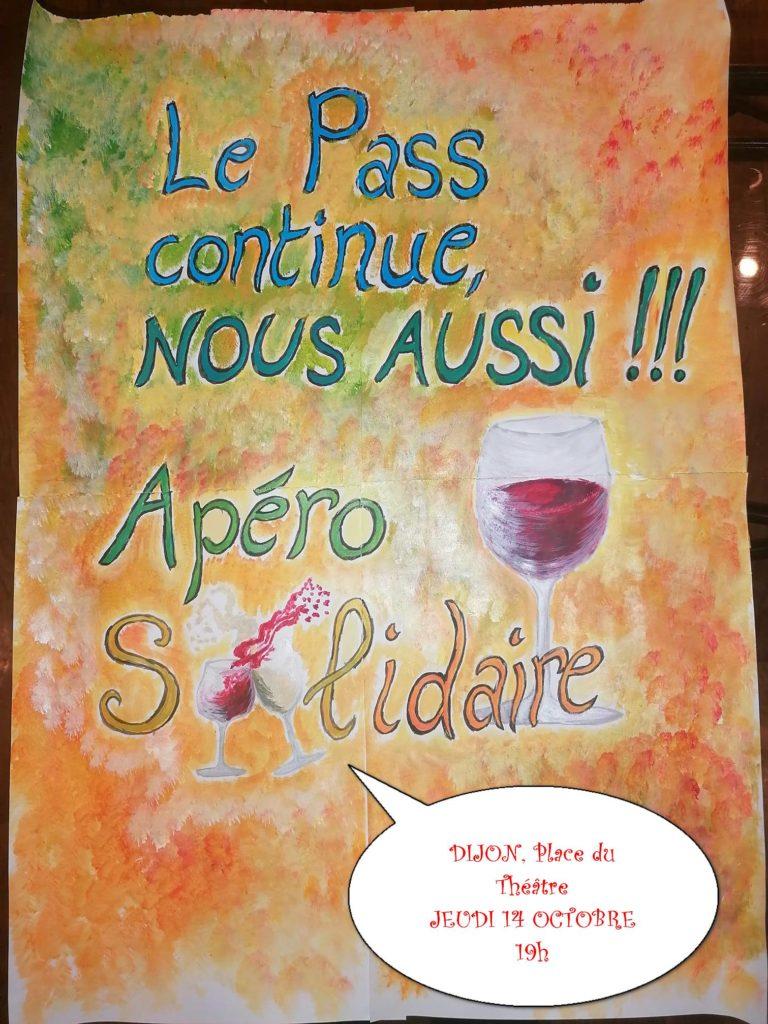 Apéro Solidaire à Dijon le 14 octobre 2021